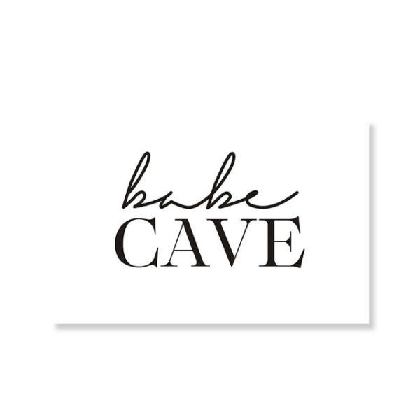 Plakat na ścianę Cave