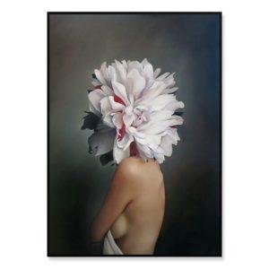 Plakat na ścianę Floral Girl 2
