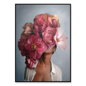 Plakat na ścianę Floral Girl 3