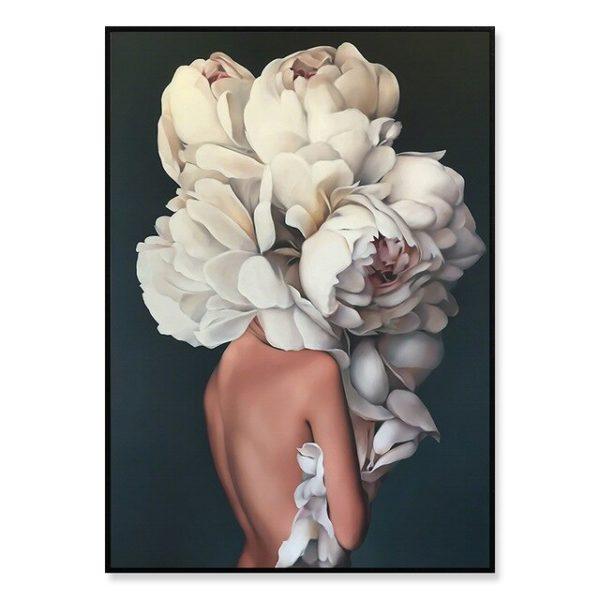 Plakat na ścianę Floral Girl 7