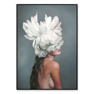 Plakat na ścianę Floral Girl 8