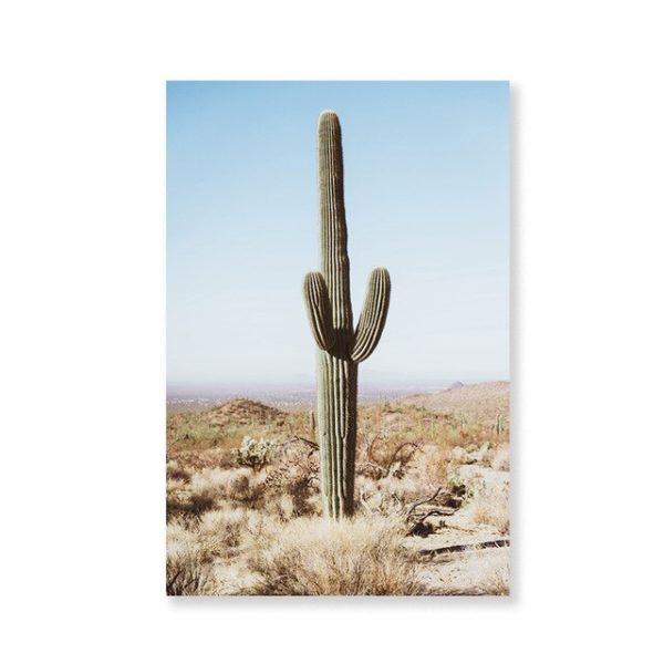 Plakat na ścianę Cactus Retro