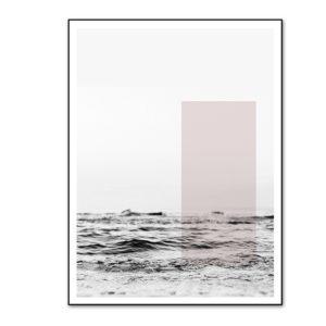 Plakat na ścianę Abstract Pink