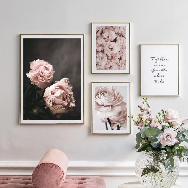 Plakat na ścianę Romantic Flower