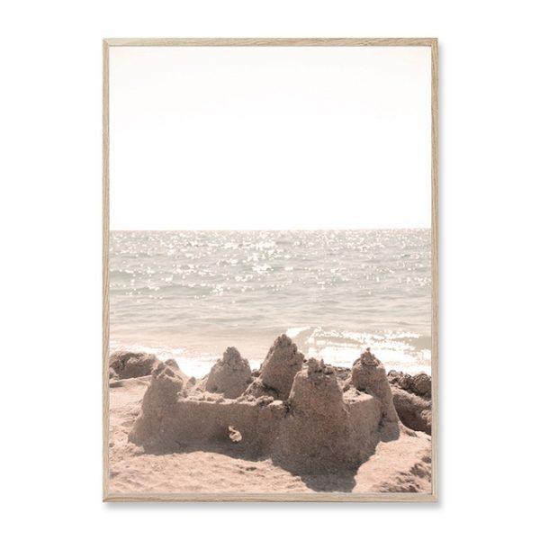 Plakat na ścianę Sandy Landscape