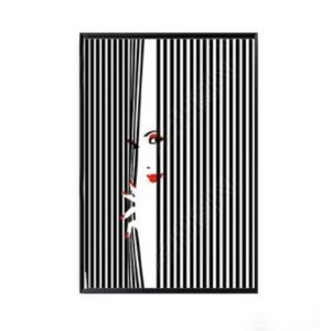 Plakat na ścianę Red Lips Woman