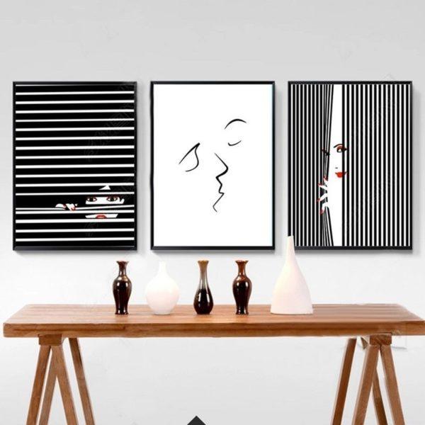 Plakat na ścianę Abstract Kiss