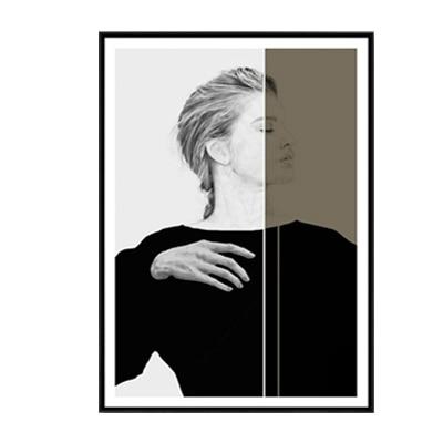 Plakat na ścianę Woman in the dark