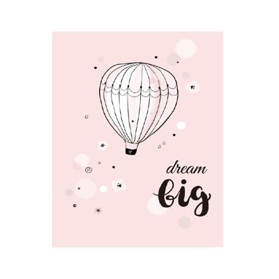Plakat dla dzieci Dream Big Little Princess