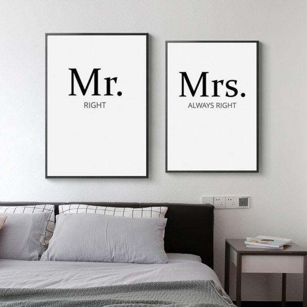 Plakat na ścianę Mr. Right