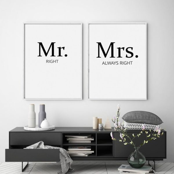 Plakat na ścianę Mrs. Always Right