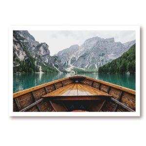 Plakat na ścianę Scandinavian Boat