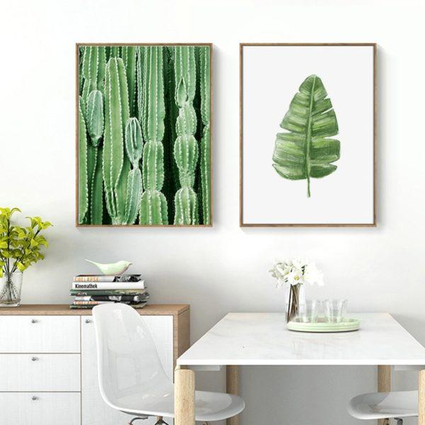 Plakat na ścianę Green Cactus