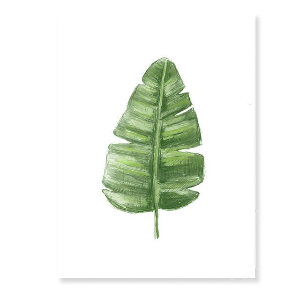 Plakat na ścianę Green Leaf