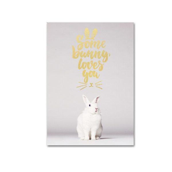 Plakat na ścianę Same Bunny loves You