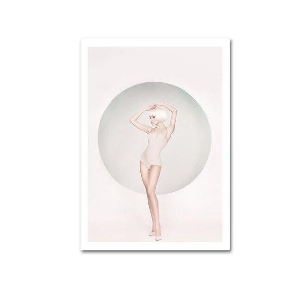 Plakat na ścianę Woman in Bubble