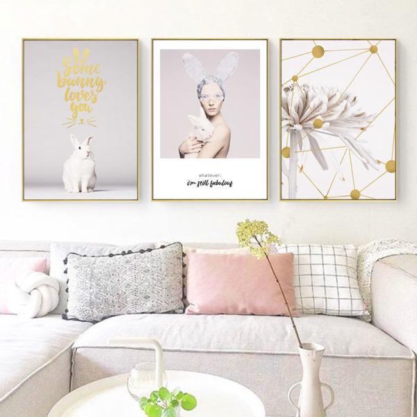 Plakat na ścianę Some Bunny loves You