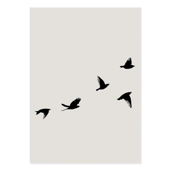 Plakat na ścianę Bohemia Birds