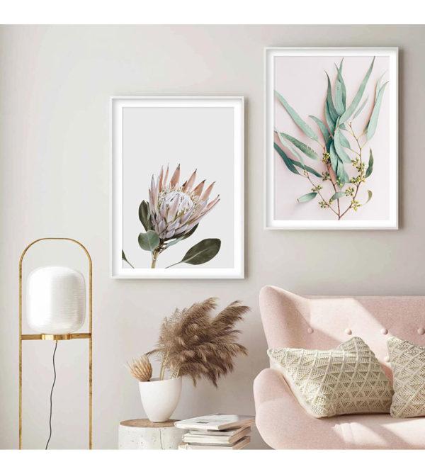Plakat na ścianę Modern Plants
