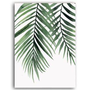 Plakat na ścianę Palm Leaf