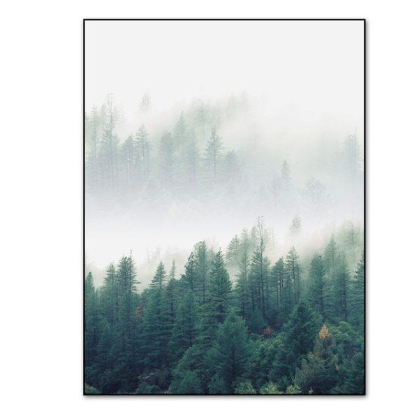 Plakat na ścianę Foggy Morning 1