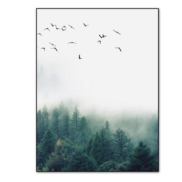 Plakat na ścianę Foggy Morning 2