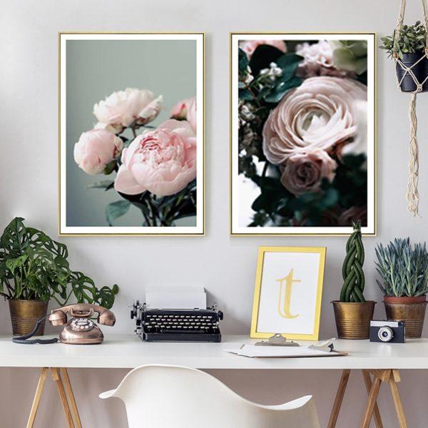 Plakat na ścianę Light Pink Flower
