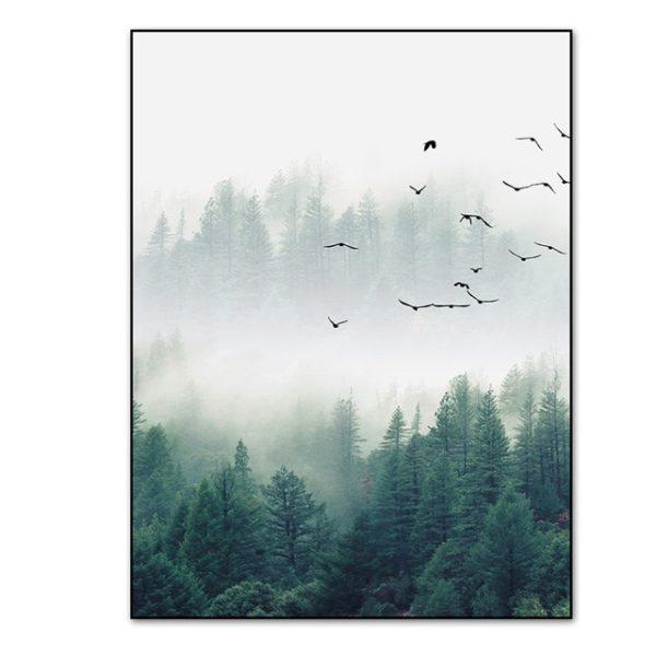 Plakat na ścianę Foggy Morning 3