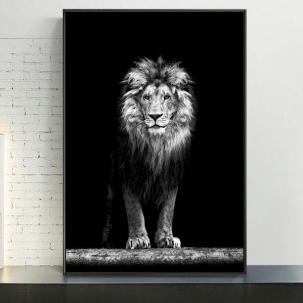 Plakat na ścianę Lion 1